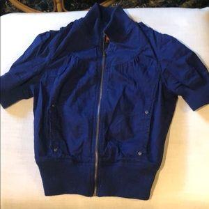 Forever 21 short-sleeve jacket M